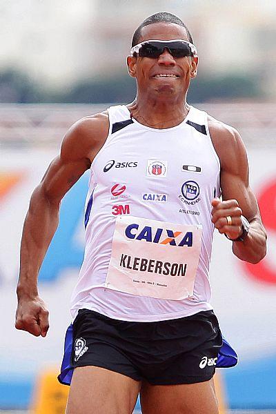 Kleberson Davide faz o recorde para o Mundial