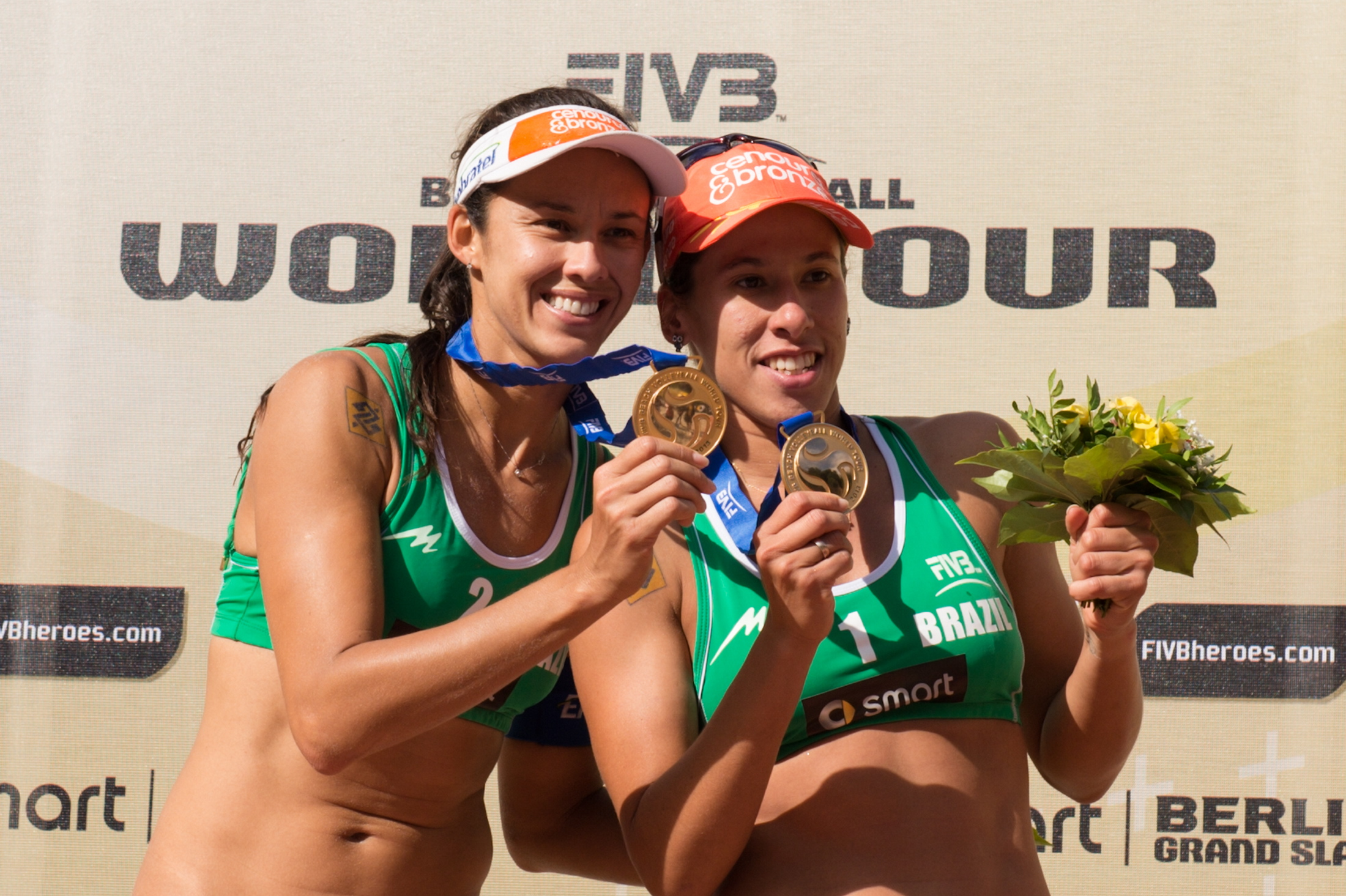 FIVB Berlin Grand Slam, Awarding Ceremony
