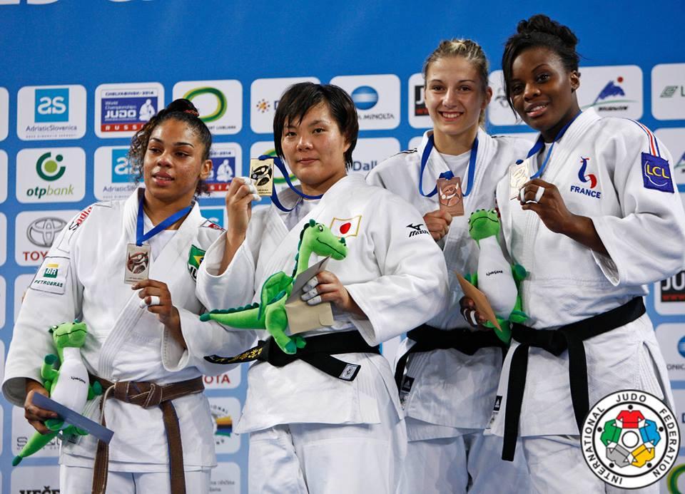 Judo medalha