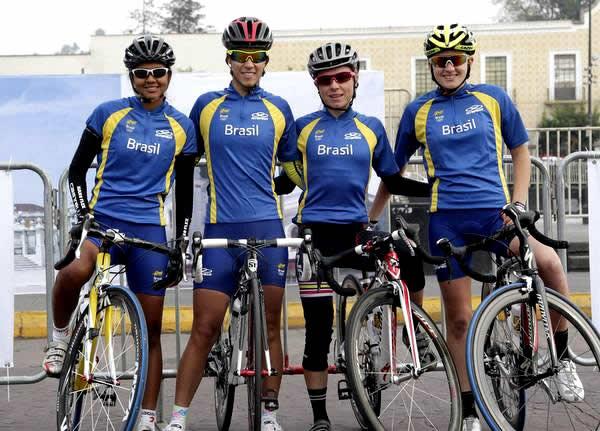 Selelção feminina de ciclismo